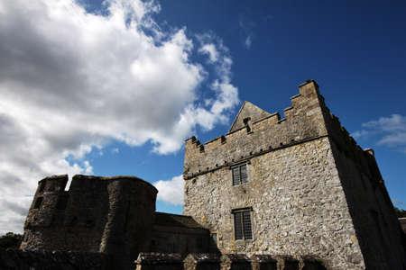 Tower of Cahir Castle in Ireland