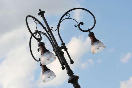 street lamp detail