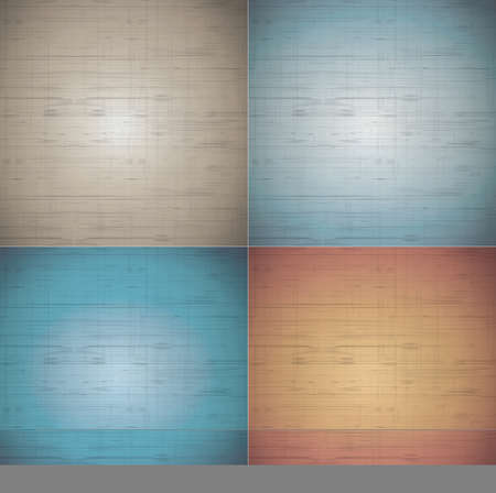 fabric texture background in four ground natural colours