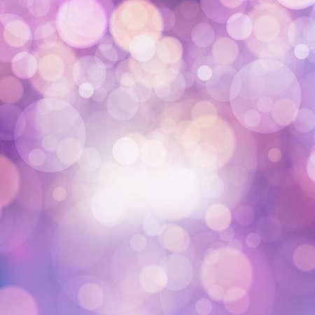 Purple bokeh abstract vector background colour explosion style Ilustração