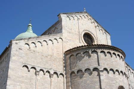 Apse of romanic church in Ancona