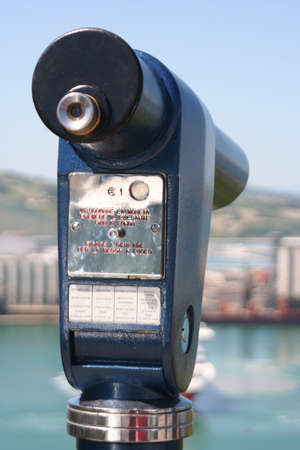 lens looking Ancona bay
