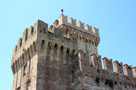 Castle in the country near Ancona, Marche, Italy Editorial