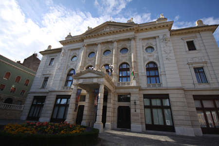 Museum of History in Budapest, Hungary Imagens - 105247905