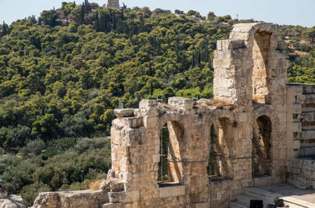 Rovine Anfiteatro di Atene Grecia