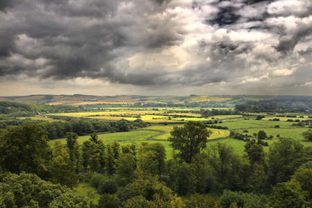 west sussex: A view of West Sussex countryside Stock Photo