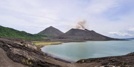 Tavurvur volcan, Papouasie-Nouvelle-Guinée