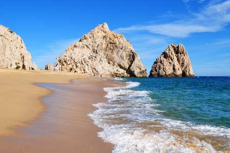 Lovers beach (Pacific side), Cabo San Lucas, Baja California Sur, Mexico
