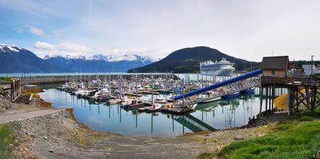 Port of Haines, Alaska, United States Stock Photo