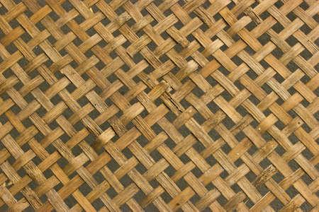 crafting: Fondo de bamb�, artesan�a Tailandia Foto de archivo