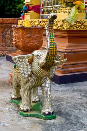 Cristal Statue d'éléphant