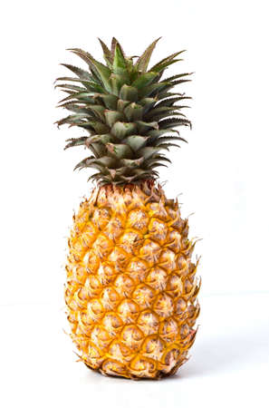 Pineapple on a white background photo
