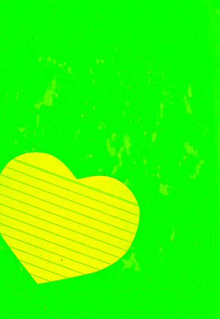 Paper heart over grunge for text photo