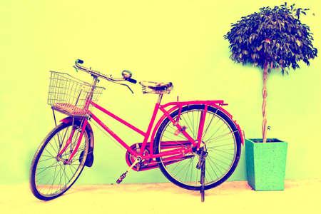original bike: Retro styled image of a nineteenth vintage bicycle