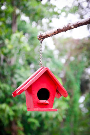 Image of decorative birdhouse photo
