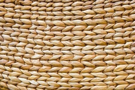 water hyacinth: Handcraft of water hyacinth weave pattern.