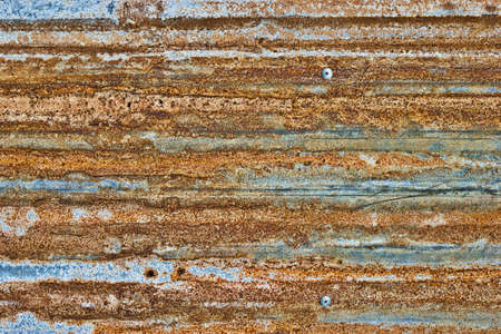 foundry: Rusted galvanized iron plate