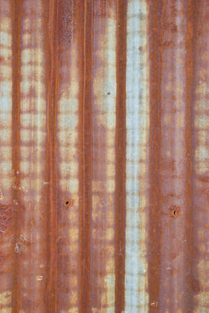 rusty: Rusty zinc texture background.