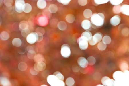 Abstract christmas lights bokeh background. Blurred focus.