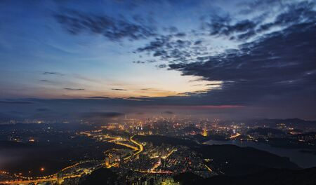 connection connections: Pengcheng scenery Stock Photo