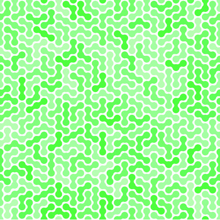 Green vector pattern puzzle. Maze. Design element. Several shades of green.
