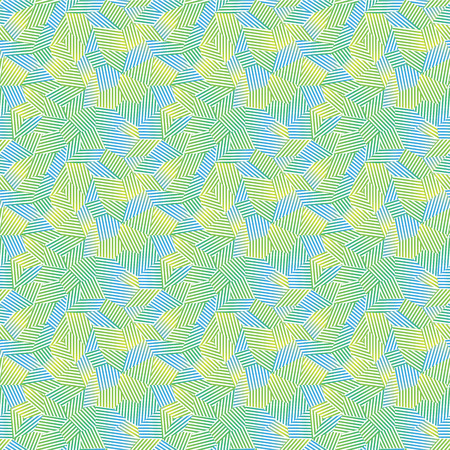 wickerwork: Vector light seamless pattern with interweaving of thin lines.