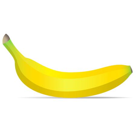 banana: banana isolated on white background Illustration