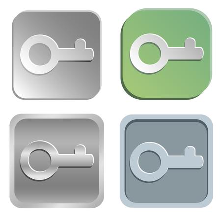 decrypt: key buttons