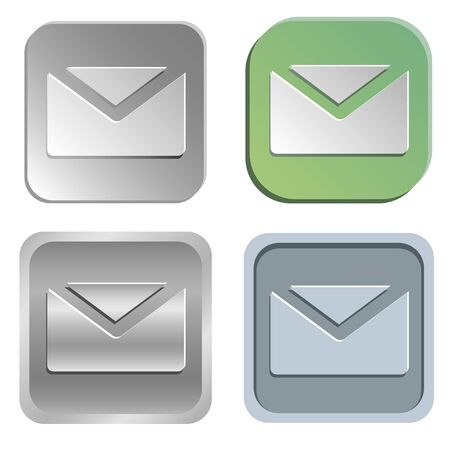 shadowy: mail buttons