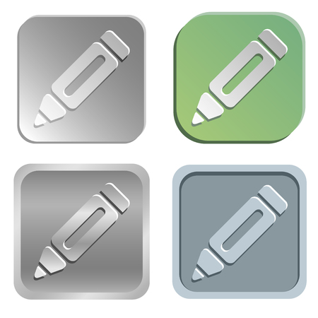 shadowy: pencil buttons