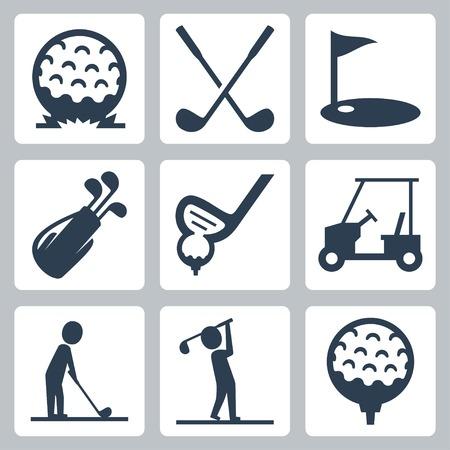 pelota de golf: Iconos del golf fijaron