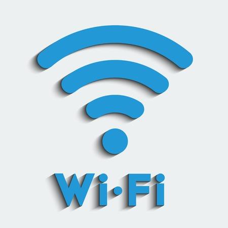 Wifi zone emblem