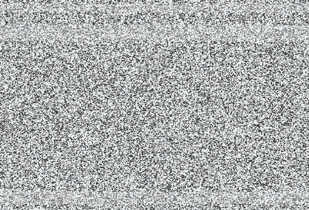 broken screen: No signal, TV noise vector texture