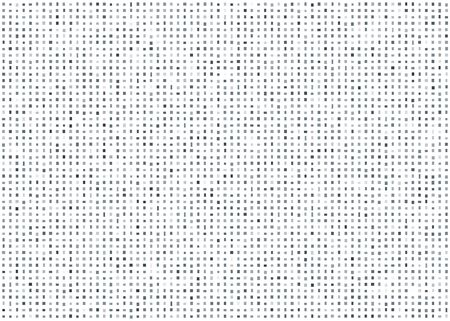 spot the difference: Abstract mosaic out of little gray squares on white background