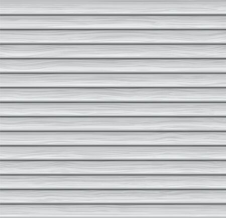 Vector Illustration of Abstract Background. Light-colored Wooden Siding