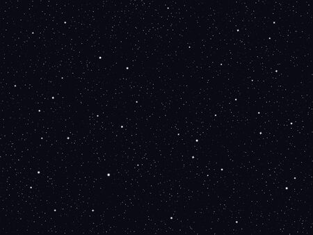 Vector starry night sky background, deep space 向量圖像