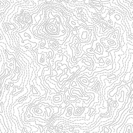 Seamless Texture or Pattern of Topographic Map 2 Ilustração
