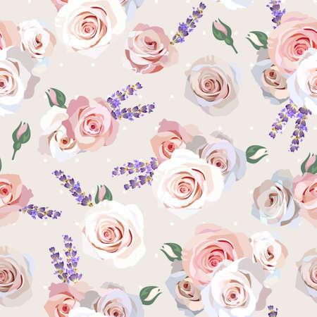 lavanda: Incons�til de las rosas y fondo de la lavanda