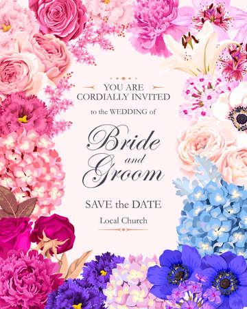 invitación de la boda de la vendimia