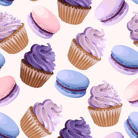 Bonbons seamless vector illustration . Banque d'images - 91691774