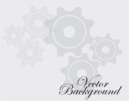 ingranaggi grigio e bianco su sfondo grigio e bianco.