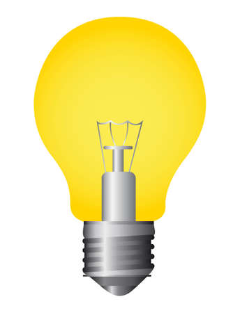bulb electirc isolated over white background. vector Stock Vector - 11317672