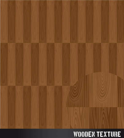 brown wooden texture background. illustration Vector