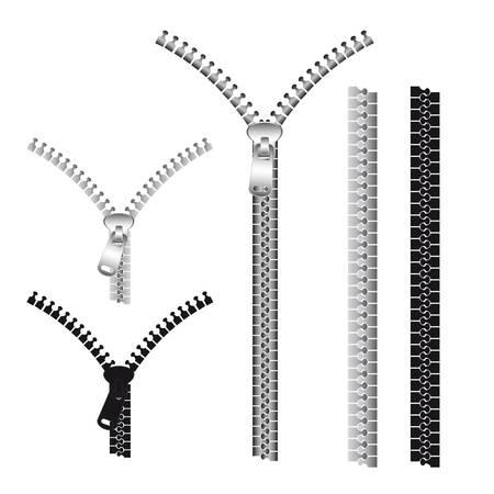 wektor zamki izolowanych ponad białym tle. ilustracji wektorowych