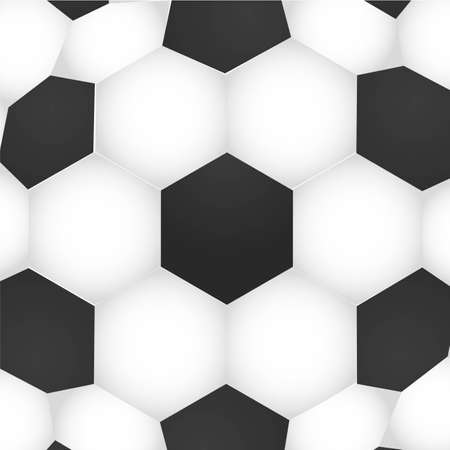 white leather texture: soccer background teture, ball pattern, vector illustration