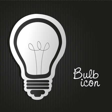 bright ideas: label light bulb on bottom lines
