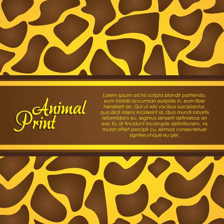 texture of zebra, animal print, vector illustration Vector