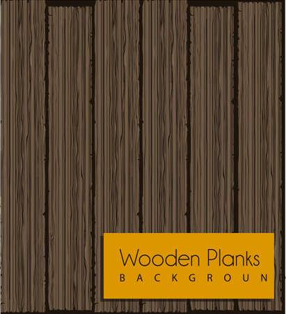 illustratie van houten patroon in verschillende tinten, vector illustration