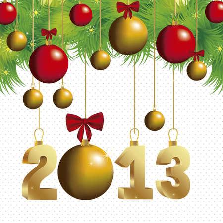 illustration of new year 2013, happy new year, vector illustration Stock Vector - 15271954