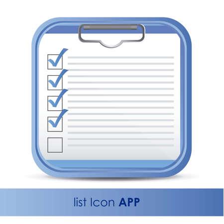 web application: illustrazione di icona per l'applicazione delle domande o di dati, illustrazione vettoriale Vettoriali